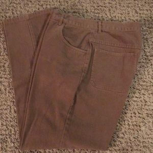 Christopher & Banks Brushed Tan Jeans